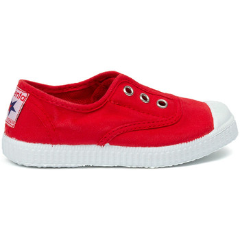 Sko Børn Tennissko Cienta Chaussures en toiles bébé  Tintado rouge
