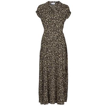 textil Dame Lange kjoler Betty London  Sort / Flerfarvet