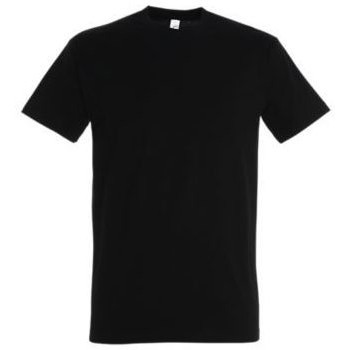 textil Dame T-shirts m. korte ærmer Sols IMPERIAL camiseta color Negro Profundo Negro