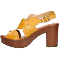Sko Dame Sandaler Made In Italia 023 Yellow