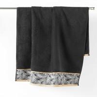 Indretning Håndklæde og badehandske Douceur d intérieur ORBELLA Sort