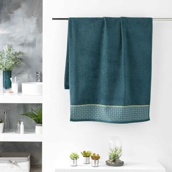 Indretning Håndklæde og badehandske Douceur d intérieur BELINA Blå