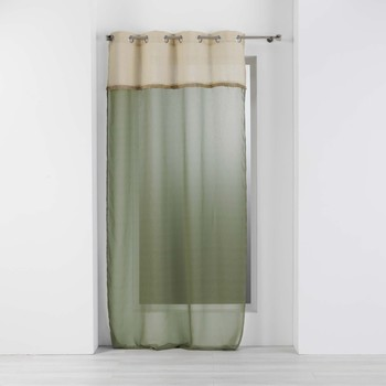 Indretning Tynde gardiner Douceur d intérieur GREENYBEL Grøn