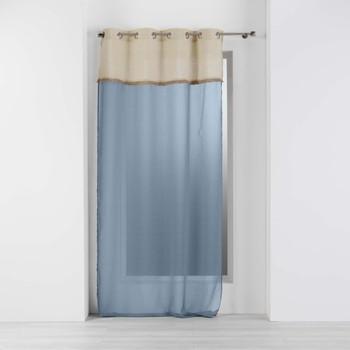 Indretning Tynde gardiner Douceur d intérieur GREENYBEL Blå