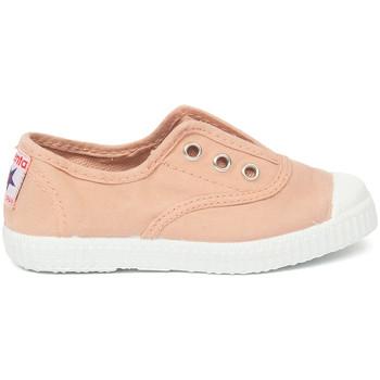 Sko Børn Tennissko Cienta Chaussures en toiles bébé  Tintado rose clair