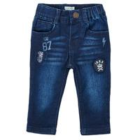 textil Dreng Lige jeans Ikks ACIER Blå / Mørk