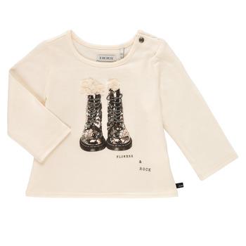 textil Pige Langærmede T-shirts Ikks PAON Hvid