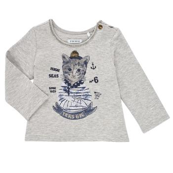 textil Pige Langærmede T-shirts Ikks PERSAN Grå