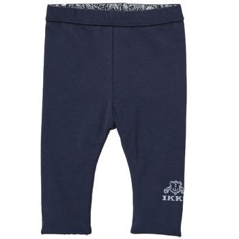textil Pige Leggings Ikks BOUTON D'OR Marineblå