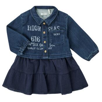 textil Pige Korte kjoler Ikks CHATAIN Marineblå