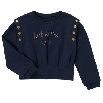 textil Pige Sweatshirts Ikks GRENAT Marineblå