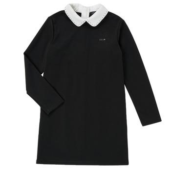 textil Pige Korte kjoler Ikks LIN Sort