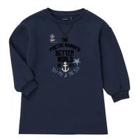 textil Pige Korte kjoler Ikks MANDARINE Marineblå