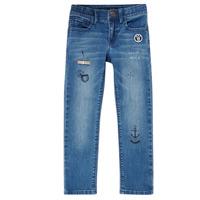 textil Dreng Smalle jeans Ikks VANILLE Blå