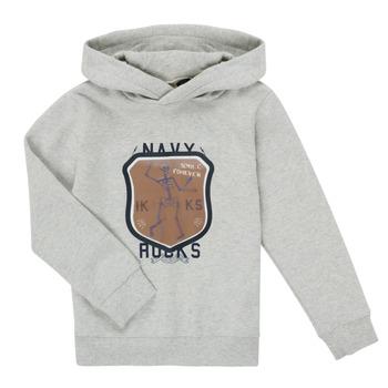 textil Dreng Sweatshirts Ikks LAVANDE Grå