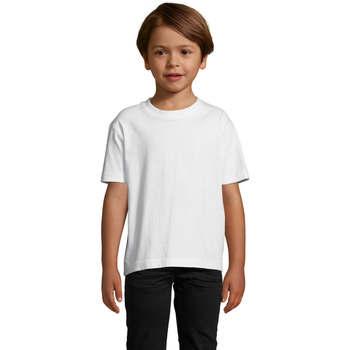 textil Børn T-shirts m. korte ærmer Sols Camista infantil color blanco Blanco
