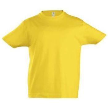textil Børn T-shirts m. korte ærmer Sols Camista infantil color Amarillo Amarillo