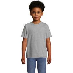 textil Børn T-shirts m. korte ærmer Sols Camista infantil color Gris Gris