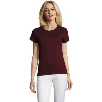 T-shirts m. korte ærmer Sols  Camiseta IMPERIAL FIT color Borgoña