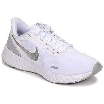 Sko Dame Multisportsko Nike WMNS NIKE REVOLUTION 5 Hvid / Sølv
