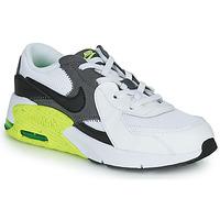 Sko Børn Lave sneakers Nike NIKE AIR MAX EXCEE (PS) Hvid / Sort