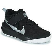 Sko Børn Høje sneakers Nike TEAM HUSTLE D 10 (PS) Sort / Sølv