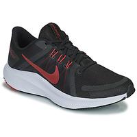 Sko Herre Løbesko Nike NIKE QUEST 4 Sort / Rød