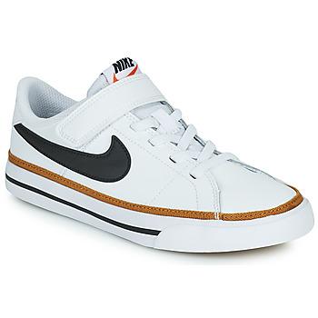 Sko Børn Lave sneakers Nike NIKE COURT LEGACY (PSV) Hvid / Sort