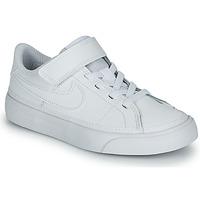 Sko Børn Lave sneakers Nike NIKE COURT LEGACY (PSV) Hvid