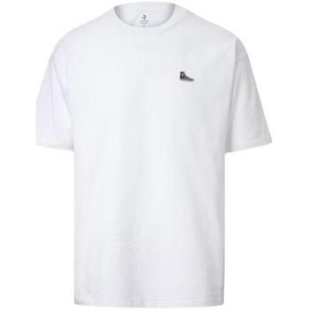 T-shirts m. korte ærmer Converse  Chuck Taylor Shoe Patch