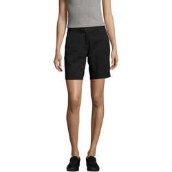 textil Dame Shorts Sols Jasper women shorts bermudas Negro