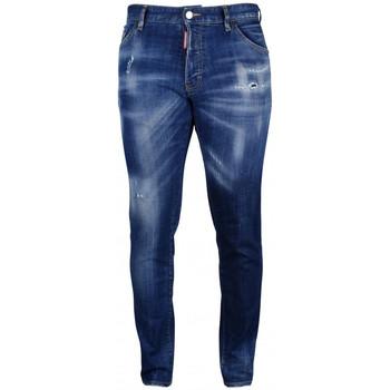 textil Herre Smalle jeans Dsquared  Blå