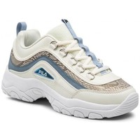 Sko Dame Lave sneakers Fila Strada A Wmn Hvid, Guld