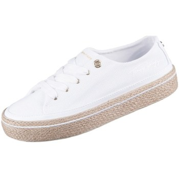 Se Sneakers Tommy Hilfiger  White Sunset Vulc ved Spartoo