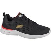 Sko Herre Lave sneakers Skechers Skechair Dynamight Sort