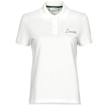 textil Dame Polo-t-shirts m. korte ærmer Lacoste PF7251 Hvid