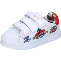 Sko Pige Lave sneakers Silvian Heach BH156 Hvid