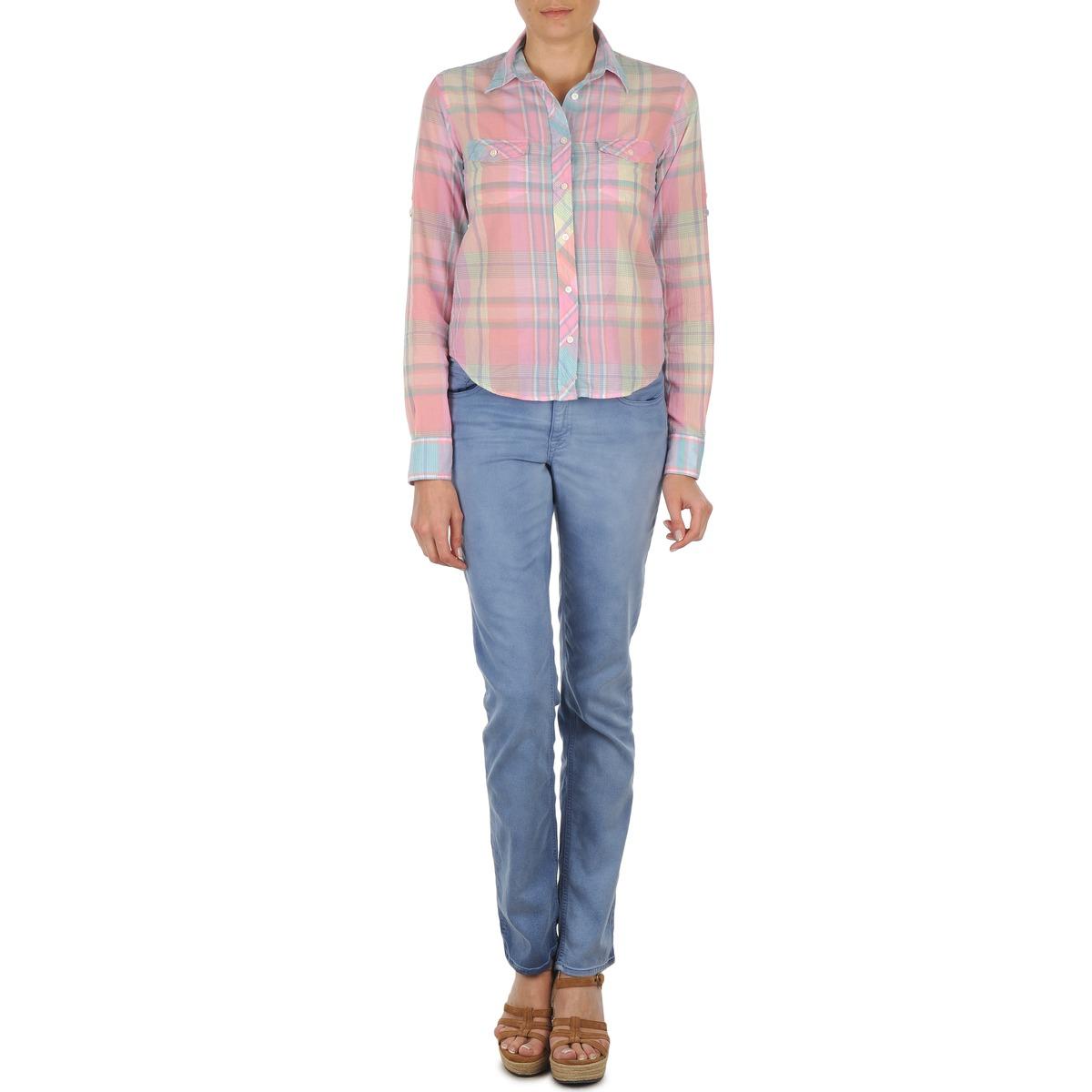 Lige jeans Gant  DANA SPRAY COLORED DENIM PANTS