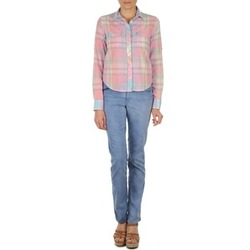 textil Dame Lige jeans Gant DANA SPRAY COLORED DENIM PANTS Blå