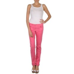textil Dame Lærredsbukser Gant DANA SPRAY COLORED DENIM PANTS Pink