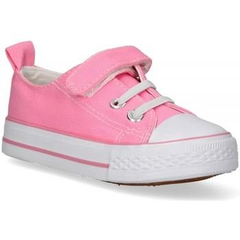 Sko Pige Lave sneakers Luna Collection 57724 Pink