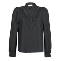 textil Dame Skjorter / Skjortebluser Moony Mood ABBECOURS Sort