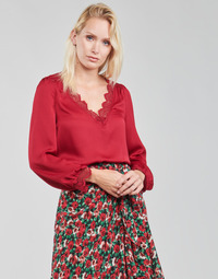 textil Dame Toppe / Bluser Moony Mood ABITAIN Rød