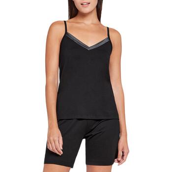 textil Dame Pyjamas / Natskjorte Impetus Woman 8402H87 020 Sort