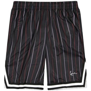 textil Herre Shorts Karl Kani Short  Small Signature Pinstripe Mesh noir/bleu/rouge