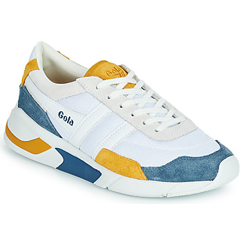 Sko Dame Lave sneakers Gola GOLA ECLIPSE Hvid / Blå / Gul