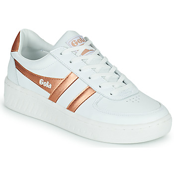 Sko Dame Lave sneakers Gola GOLA GRANDSLAM Hvid / Bronze