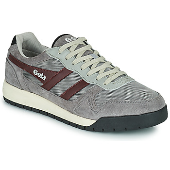 Sko Herre Lave sneakers Gola GOLA TREK LOW Grå / Bordeaux