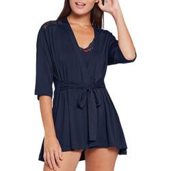 textil Dame Pyjamas / Natskjorte Impetus Woman 8600J63 F86 Blå