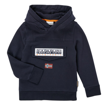 textil Dreng Sweatshirts Napapijri BURGEE Marineblå